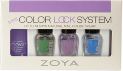 Zoya 4 pc Color Lock Mini Set
