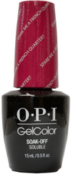 OPI Gelcolor Spare Me A French Quarter?