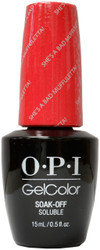 OPI Gelcolor She's A Bad Muffuletta!
