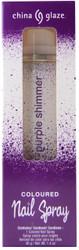China Glaze Purple Shimmer  Spray On Polish