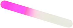 Berkeley Large Crystal Glass Nail File (Pink)
