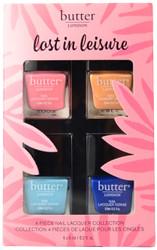 Butter London 4 pc Lost In Leisure Mini Set