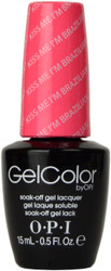 OPI Gelcolor Kiss Me I'm Brazilian (UV / LED Polish)