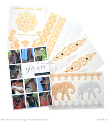 Flash Tattoos Sheebani Temporary Tattoos