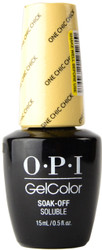 OPI Gelcolor One Chic Chick (UV / LED Polish)