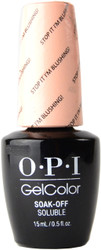 OPI Gelcolor Stop It I'm Blushing! (UV / LED Polish)