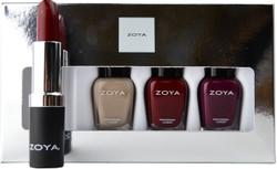 Zoya 4 pc Rosy Cheeks Lips & Tips Set