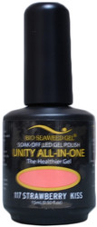 Bio Seaweed Gel Strawberry Kiss Unity All-In-One (UV / LED Polish)