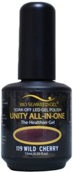 Bio Seaweed Gel Wild Cherry Unity All-In-One (UV / LED Polish)