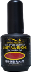 Bio Seaweed Gel Pomegranate Unity All-In-One (UV / LED Polish)