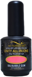 Bio Seaweed Gel Bubble Gum Unity All-In-One (UV / LED Polish)