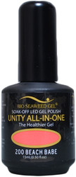 Bio Seaweed Gel Beach Babe Unity All-In-One (UV / LED Polish)