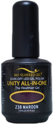 Bio Seaweed Gel Maroon Unity All-In-One (UV / LED Polish)
