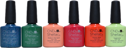 CND Shellac 6 pc Rhythm & Heat Collection