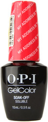 "OPI Gelcolor My Address Is ""Hollywood"" (UV / LED Polish)"