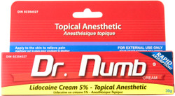 Dr. Numb Topical Anesthetic Pain Relief Cream (30 g)