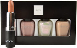 Zoya 4 pc Warm & Cozy Lips & Tips Set