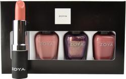 Zoya 4 pc Sleigh Away Lips & Tips Set