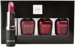Zoya 4 pc Oh What Fun Lips & Tips Set