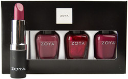 Zoya 4 pc Oh What Fun Lips & Tips Set