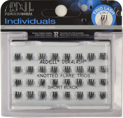 Ardell Lashes Individuals Knotted Flare Trios Short Black Ardell Lashes