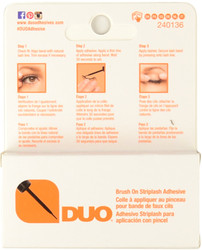 Duo Eyelash Adhesive Duo Dark Brush On Striplash Adhesive / Glue (0.18 oz. / 5 g)