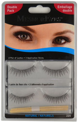 MesmorEyes Double Pack #220 Black MesmorEyes Lashes (2 Pairs)
