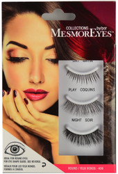 MesmorEyes #406 Round Lash Collection (3 Pairs)
