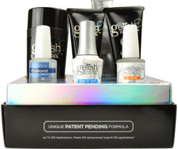 Gelish PolyGel 9 pc French Kit