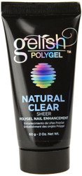 Gelish PolyGel Natural Clear Sheer PolyGel Nail Enhancement