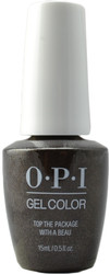 OPI GelColor Top The Package With A Beau (UV / LED Polish)