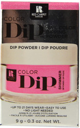Red Carpet Manicure Bright As Can Be Color Dip Powder
