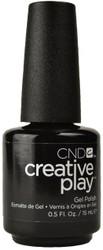 CND Creative Play Gel Polish Black & Forth (UV / LED Polish)