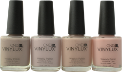 CND Vinylux 4 pc The Nude Collection