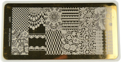 Color Club Image Plate Lace