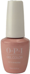 OPI Gelcolor Put It In Neutral (UV / LED Polish)