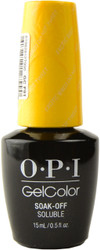 OPI Gelcolor Exotic Birds Do Not Tweet (UV / LED Polish)