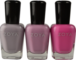 Zoya 3 pc Kisses Pastel Jellies Trio
