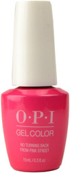 OPI GelColor No Turning Back From Pink Street (UV / LED Polish)