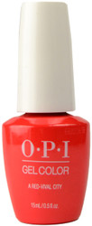 OPI GelColor A Red-Vival City (UV / LED Polish)