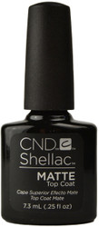 CND Shellac UV Matte Top Coat (0.25 fl. oz. / 7.3 mL)