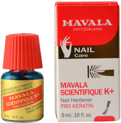 Mavala Nail Hardener Pro Keratin Scientifique K+ (5mL)