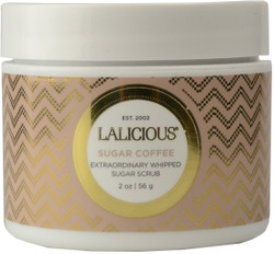 Lalicious Small Sugar Coffee Extraordinarily Whipped Sugar Scrub (2 oz. / 56 g)