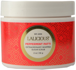 Lalicious Small Sugar Peppermint Extraordinary Whipped Sugar Scrub (2 oz. / 56 g)