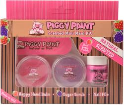 Piggy Paint for Kids 4 pc Scented Mini Mani Kit