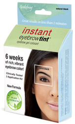 Godefroy Natural Black Instant Eyebrow Tint Kit