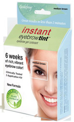 Godefroy Medium Brown Instant Eyebrow Tint Kit
