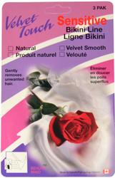 Velvet Touch Bikini Hair Removal Mitten