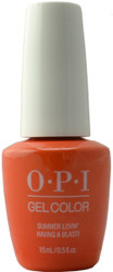OPI GelColor Summer Lovin' Having A Blast! (UV / LED Polish)