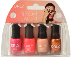 Orly 4 pc Neon Earth Mini Set